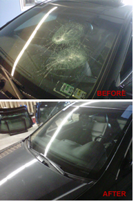 Auto Glass Replacement: Before and After